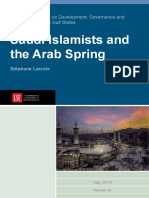 Lacroix Saudi Islamists and TheArab Spring 2014