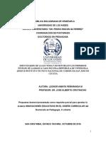 DIFICULTADES DE LA LECTURA Y ESCRITURA EN LOS PRIMEROS NIVELES DE LA BÁSICA PRIMARIA