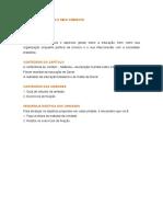Fp - Educacao Cultura e Meio Ambiente II