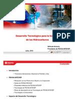 Desarrollo Tecnologico Para La Industria Petrolera(Importante)