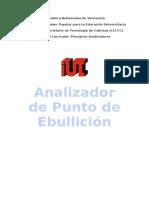 Analizador de Punto de Ebullicion (TRABAJO)