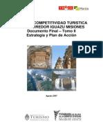 Secretaría de Turismo de La Nación (2007) - Plan de Competitividad Turistica Del Corredor Iguazu-Misiones. Tomo II