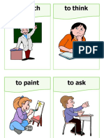 Classroom Actions Flashcards