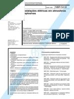NBR 5418 de 1995 - Instalações Elétricas Em Ambientes Inflam