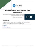Despiece Samsung Galaxy Tab 3 Lite