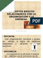 1. Conceptos Básicos Relacionados Con La Org.