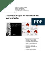 Evaluación Sumativa Taller 1 Psicología