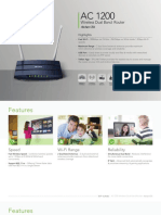 Router Dual Band Wireless Ac1200 Tp-link Archer c50 Re-435778-4
