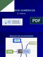 2. Raices de Ecuaciones