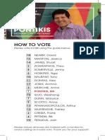 Bill Pontikis - How to Vote 2016