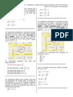 D8 – Identificar a Equação de Uma Reta Apresentada a Partir de Dois Pontos
