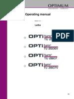 Optimum Tu2506v Manual