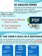 Presentation-Types of Verbs