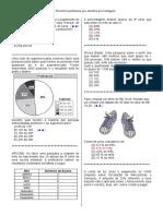 D16 – Resolver Problema Que Envolva Porcentagem