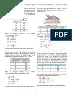 D18 – Reconhecer Expressão Algébrica Que Representa Uma Função a Partir de Uma Tabela