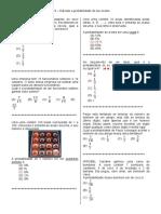 D33 – Calcular a Probabilidade de Um Evento.