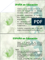 Etica Educacion España