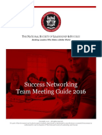 Success Networking Team Meeting Guide 2016_0