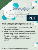 Batayang Kaalaman Sa Pagsusulat Ng Liham-Pangnegosyo