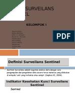 Sistem Surveilans Sentinel