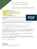 Chapter 13 Worksheet