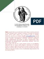 Listă de Cărți În Limba Română 13-10-2016 (Ocult-Ro)