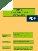 Tema 5_ La Madera
