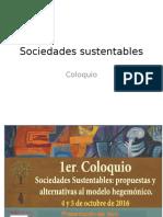 Sociedades sustentables