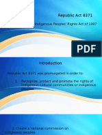 IPRA Law - Human Rights