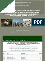 Avaliação Quantitativa Do Impacto Do Algodão-bt Na População (LIMA JÙNIOR et al. 2013)