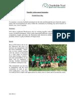 Monthly Achievement Report Sept
