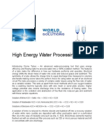 Mobil Water Processing Oil and Gas