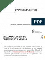1 Estado de Costo de Produccion Presentacion