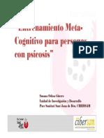 Entrenamiento MetaCognitivo Para Personas Con Psicosis