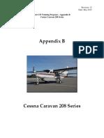 5. Training Manual Appendix B. Caravan 208 Series Rev 121