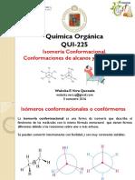 Clase 7 Isomería . Conformación de Alcanos y Cicloalcanos
