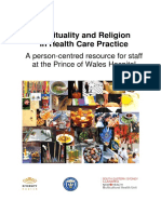 Spirituality Staff Resource