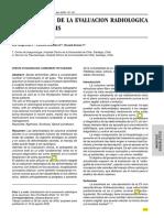 Actualizacion Ev Radiologica en Escoliosis
