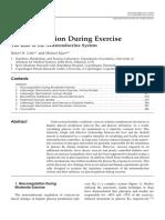 Glucoregulation During Exercise