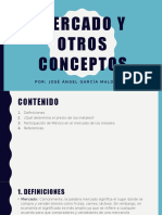 Mercado y Otros Conceptos