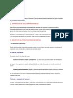Plan de Empresa (Adminiatracion) Negocio Nuego Con Modelo de Jerarquizacion