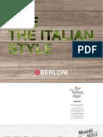 Catálogo Live the Italian Style