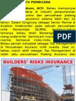 Builder Risks Insurance