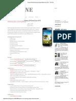 Custom ROM Samsung Galaxy S4 EverCoss A7S _ the One