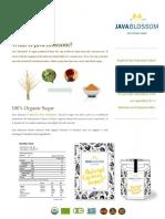 Javablossom Leaflet