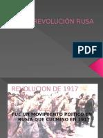 Revolución Rusa Trabajo Sociales