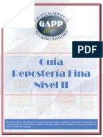 Repostería Fina Nivel II