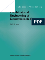 (Combinatorial Optimization 2) Mark Sh. Levin (Auth.)-Combinatorial Engineering of Decomposable Systems-Springer US (1998)