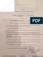 SIGNED - Third Circuit Case No. 16-1149 LAMBERT Habeus Corpus PETITION for WRIT of CERTIORARI to the United States Supreme Court October 12, 2016