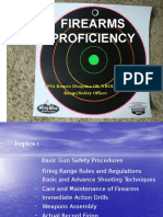 Firearm Proficiency Training